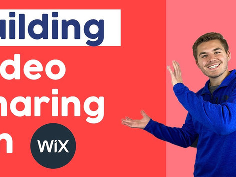 How To Build A Video Sharing Website in Wix | Corvid by Wix.com Tutorial