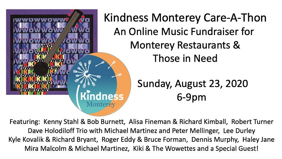 KindnessMonterey Care-a-Thon Banner For