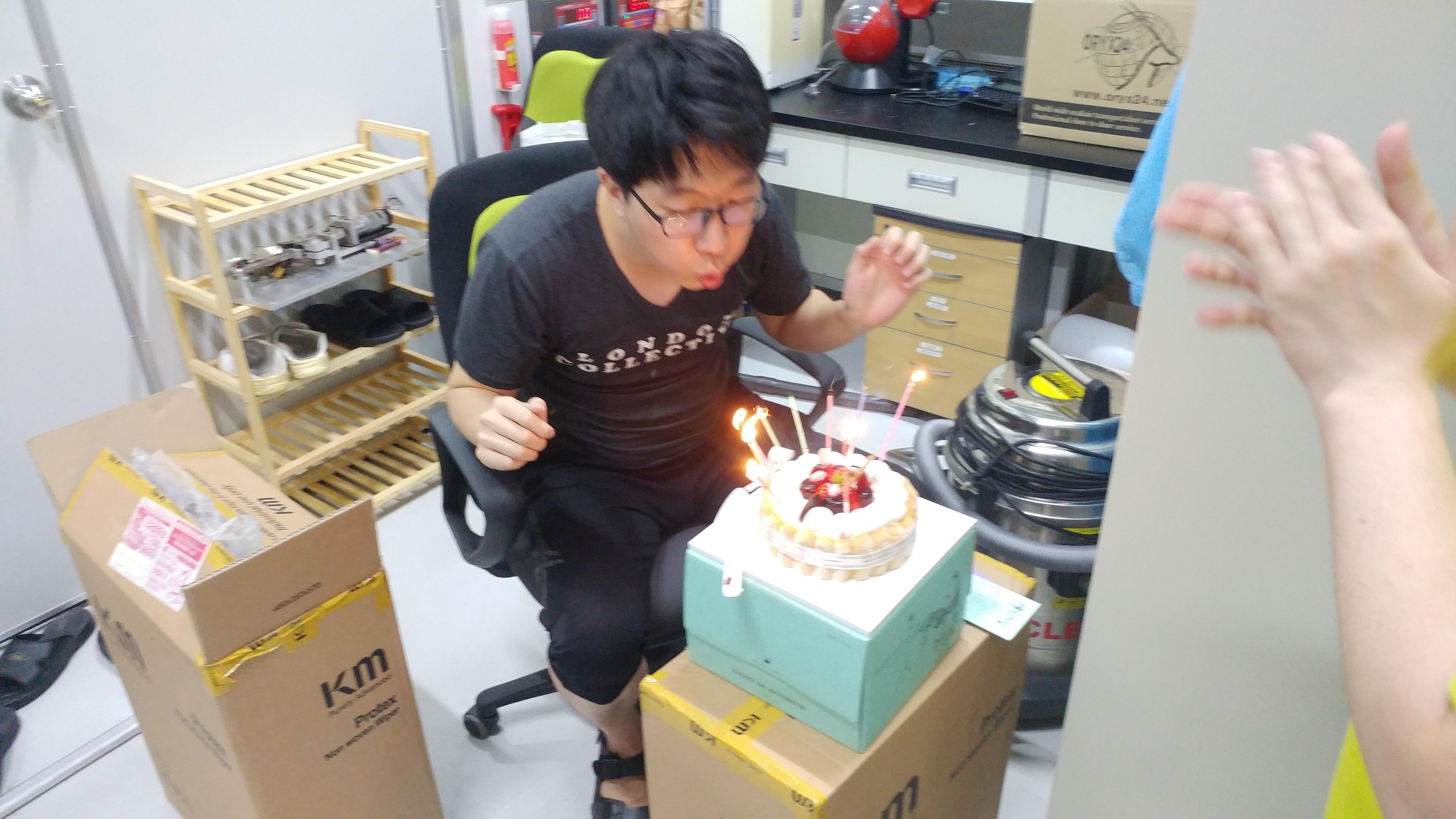 2017.08 C.J. Choi's birthday