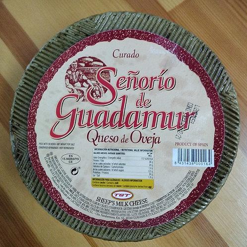 """QUESO CURADO DE OVEJA """"Señorío de Guadamur"""""""