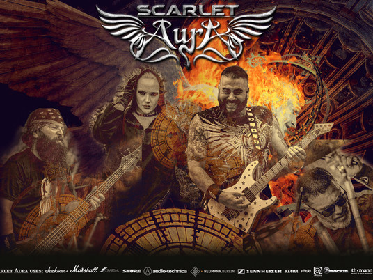 Scarlet Aura Unveil First Video And New Single 'In the Line of Fire' From Their Upcoming New Album