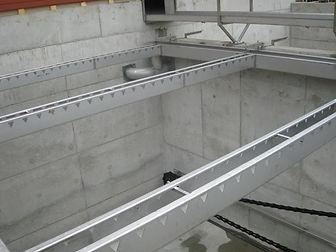 Распределительные каналы для очистных сооружений