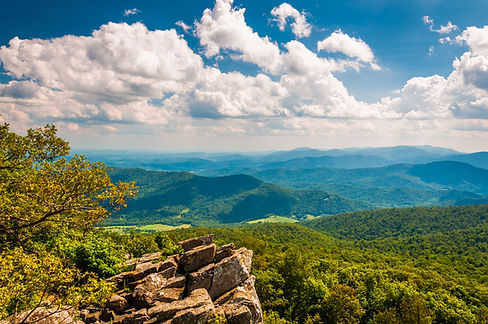 View Of The Blue Ridge Mountains From No