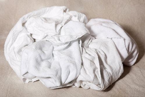 33     White Cotton Blankets