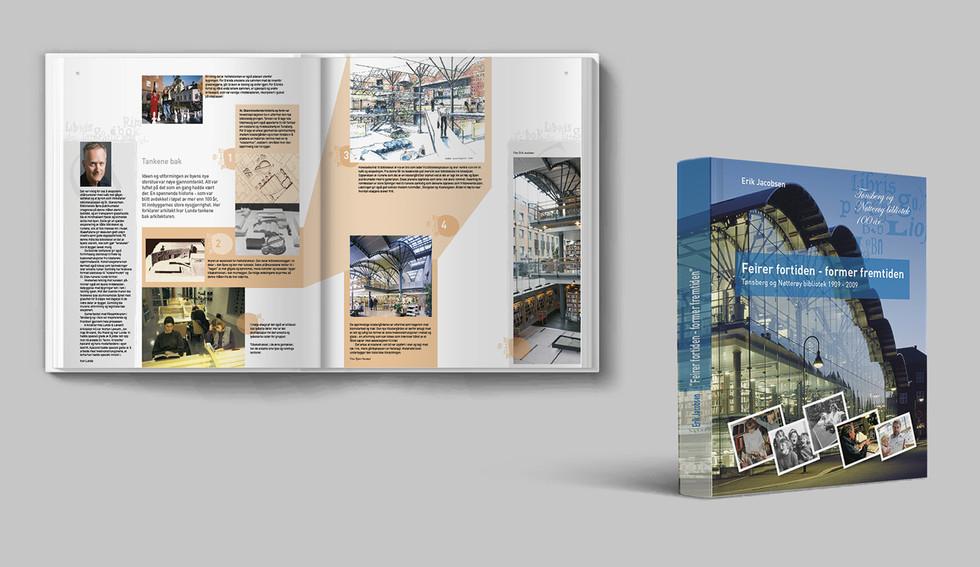 Bok design og ombrekking