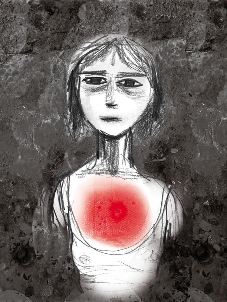 Illustrasjon smerte