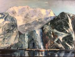 Inne i en fjord