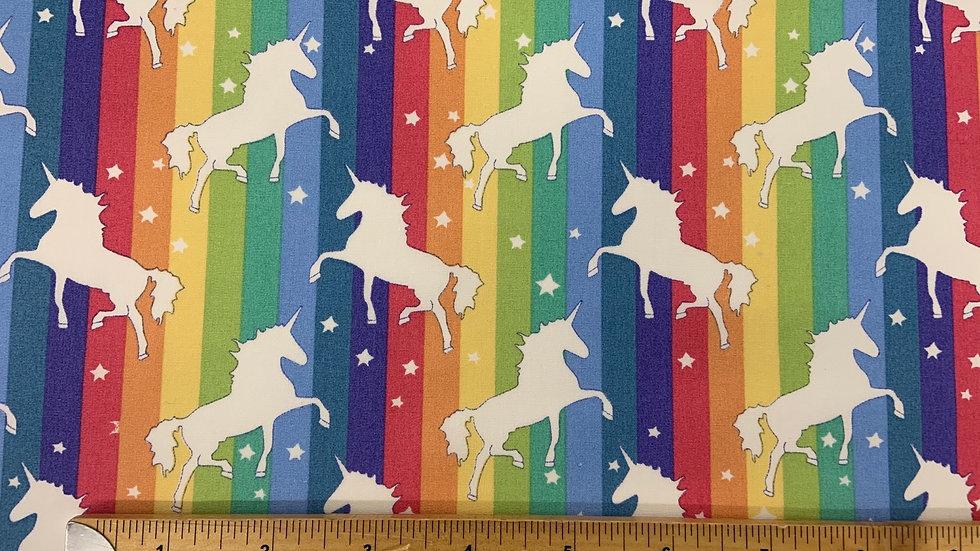 Unicorn Bright Stripes