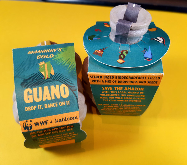 GUANO Seedbomb Packaging