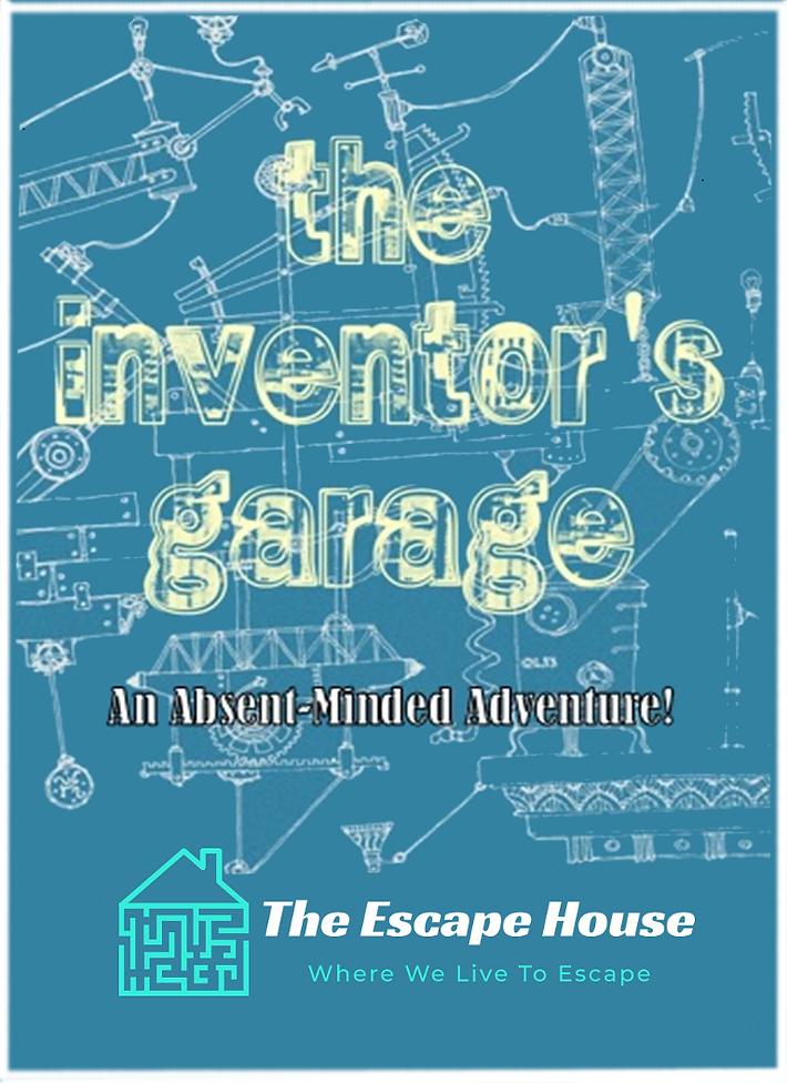 Inventors Garage Official Poster Escape House.png