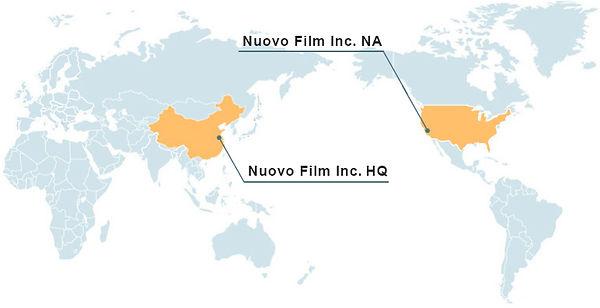Nuovo Film Inc. locations