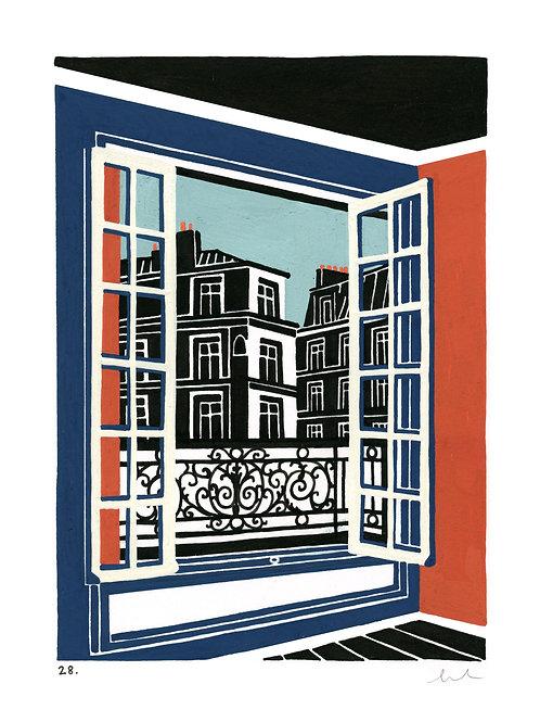 28. fenêtre sur paris