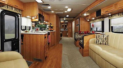 California Camper Repair Paint Parts Service Newark Ca RV Sales 1 fremont interior leather