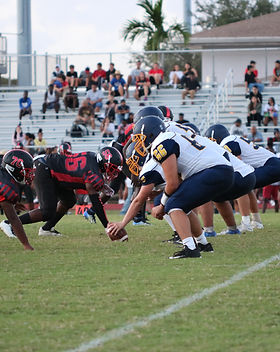 Pompano Beach Tornadoes v. Northeast High football game