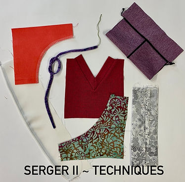 Sewing With Sergers Level 2- Beyond The Basics