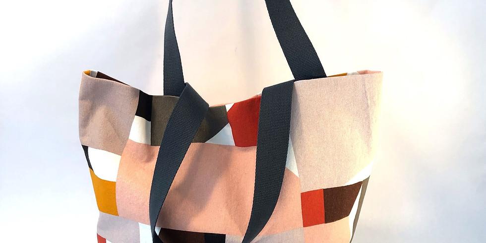 Beginning sewing- simple tote bag