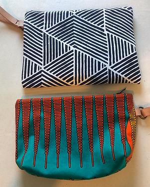 Beginning sewing- make a zipper pouch