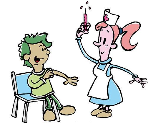 Calendario básico de vacunas para niños y adolescentes