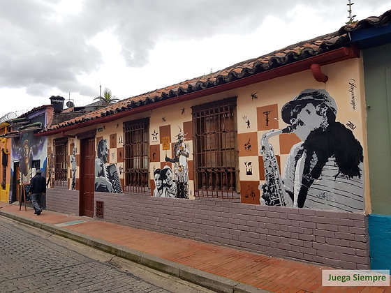 Candelária Bogotá _ Arte Urbana (graffiti)