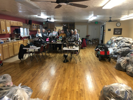 5000+ Pairs of shoes sorted & bagged