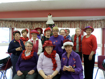 Foxy Red Hatters