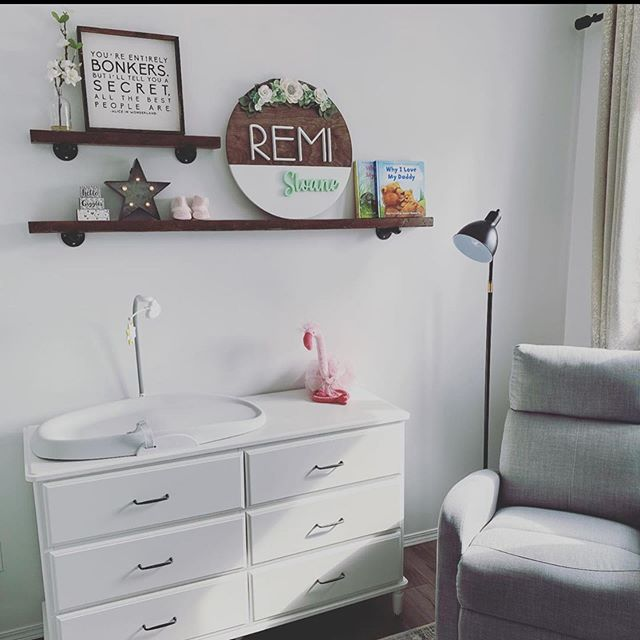 Miss Remi has a beautiful nursery 😍  Fl