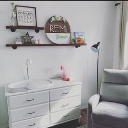 Miss Remi has a beautiful nursery 😍  Fl