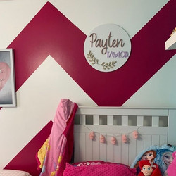 Loving this pop of colour in Payten's ro