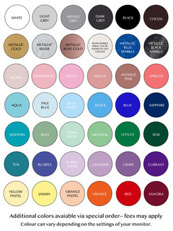 Color Chart August 2021