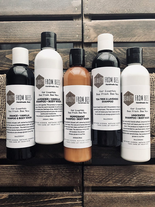 PRE-ORDER 8oz Shampoo