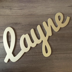 Customizable Wall Name - Layne