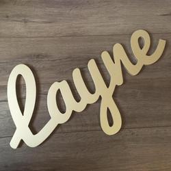 Customizable Wall Name - Layne