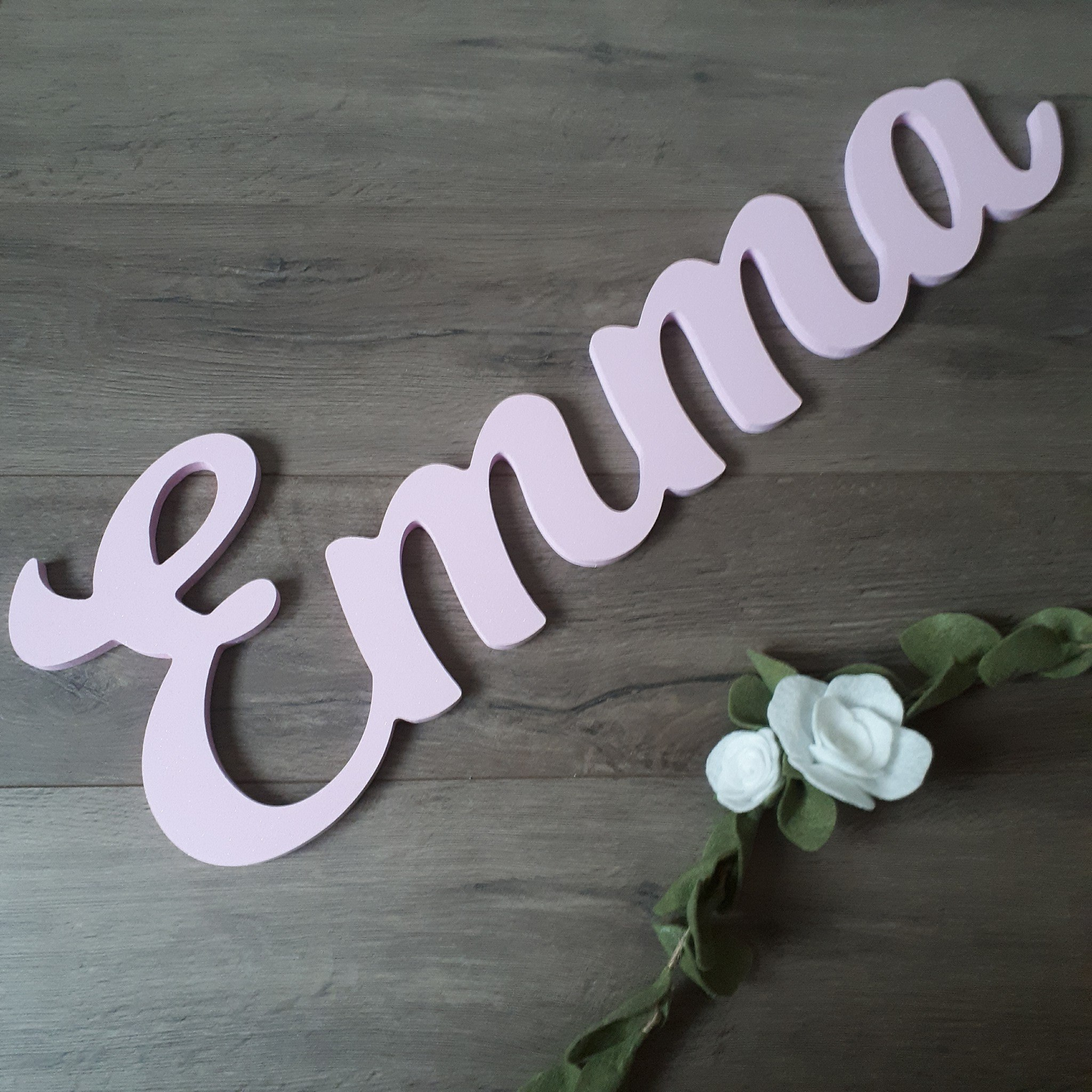 Customizable Wall Name - Emma