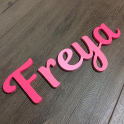 Customizable Wall Name - Freya