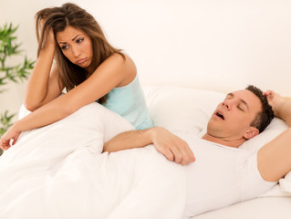 What To Do About A Snoring Spouse