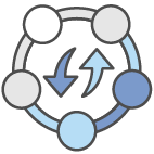 AWS Continuous Delivery Icon Colour Transparent