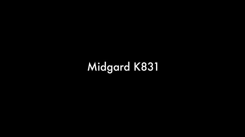 Midgard K831 making of a K831 lamp