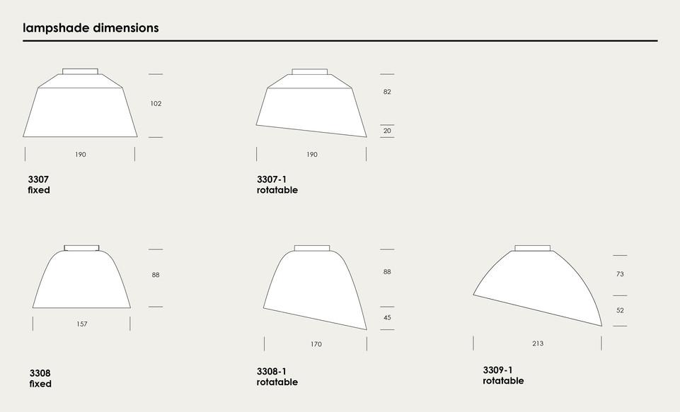 midgard modular lampshade options