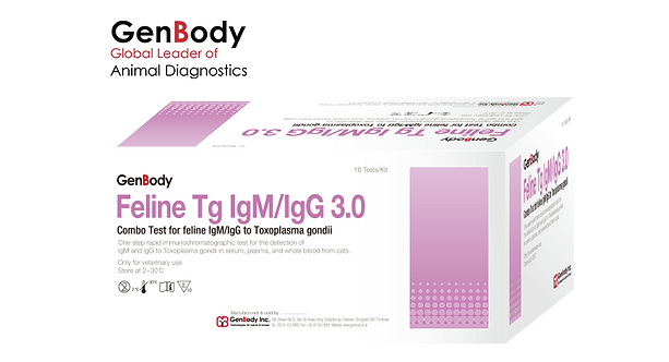 Test Kit Feline Tg IgM/IgG 3.0 'GenBody'