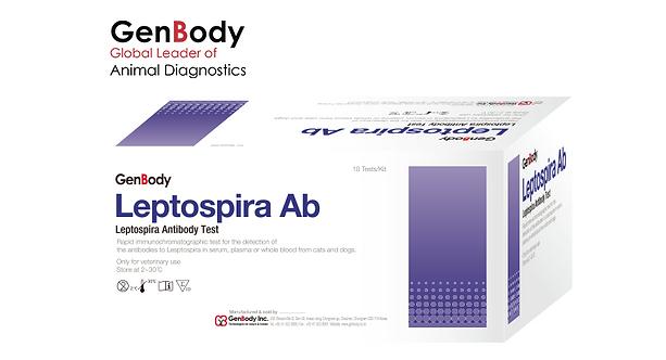 Test Kit Leptospira Ab 'GenBody'