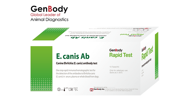 Test Kit E.canis Ab 'GenBody'