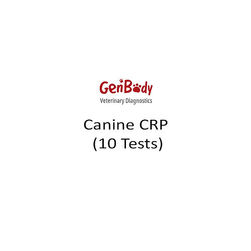 Canine CRP (10 Tests)