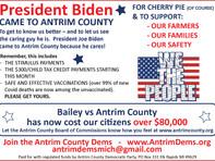 President Biden CAME TO ANTRIM COUNTY