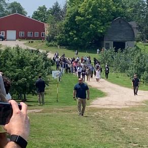 President Biden Visits Antrim County