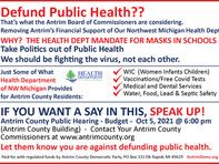 Defund Public Health??