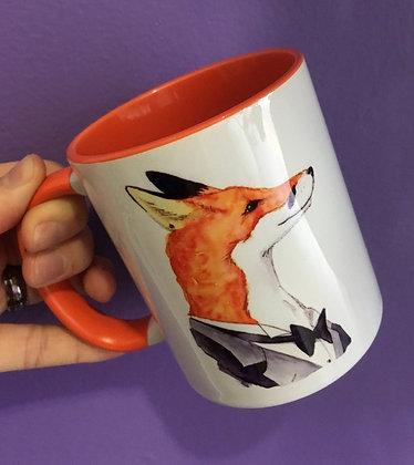 Orange Ceramic Mug