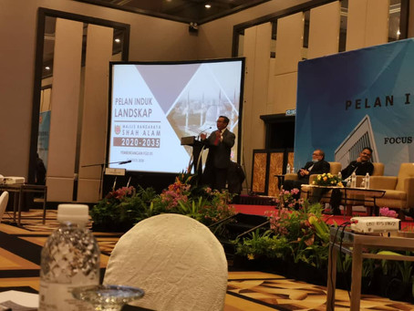 Pelan Induk Landskap Shah Alam (PILSA) 2020 - 2035, Focus Group Discussion (FGD 01)