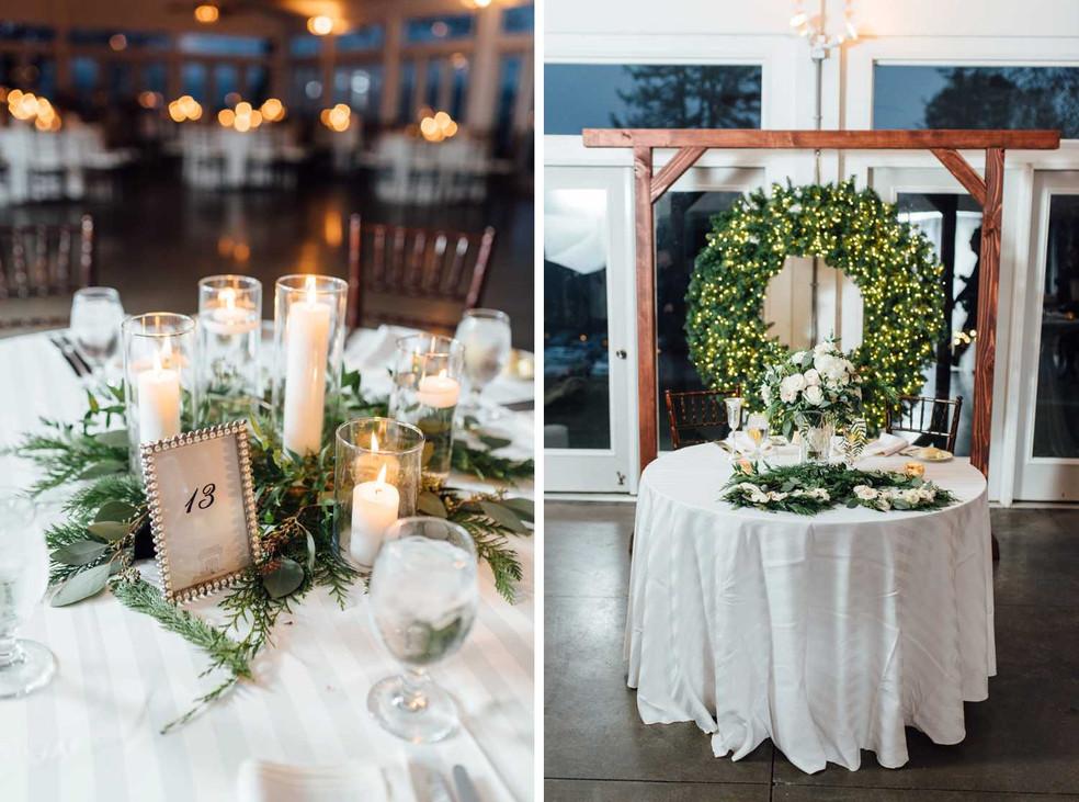 Tori & Galen Bakos Wedding Reception Tab