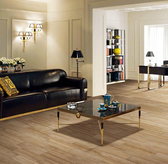 2016 City beach living room timber look