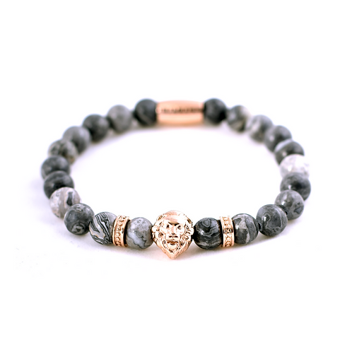 Lion Head Rosé/Grey